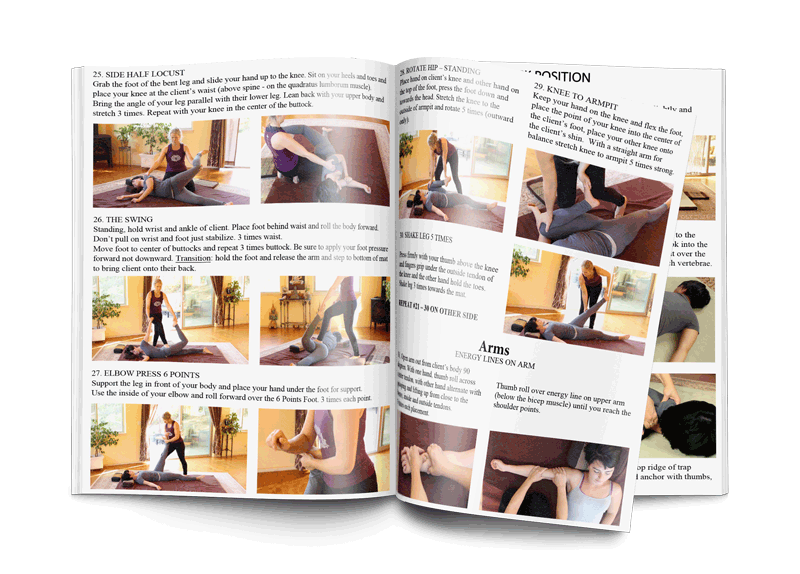Picture of Thai Massage Video Training Manual